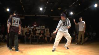 ATZO & P→☆ vs dimension Stop POP BEST4 / WDC 2015 KANTO ELIMINATION DANCE BATTLE 2on2