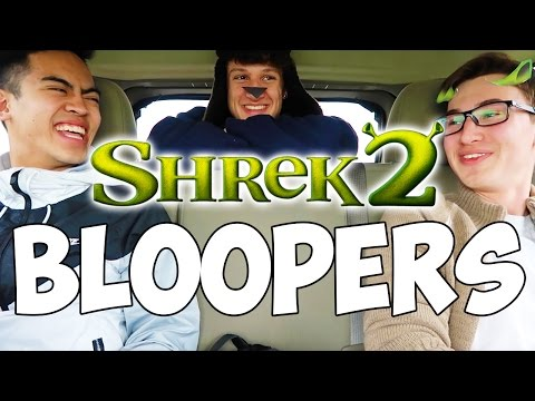 SHREK 2 BLOOPERS AND OUTTAKES