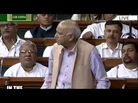 Shri M. J. Akbar's speech in Lok Sabha on Kashmir unrest, 20.07.2016
