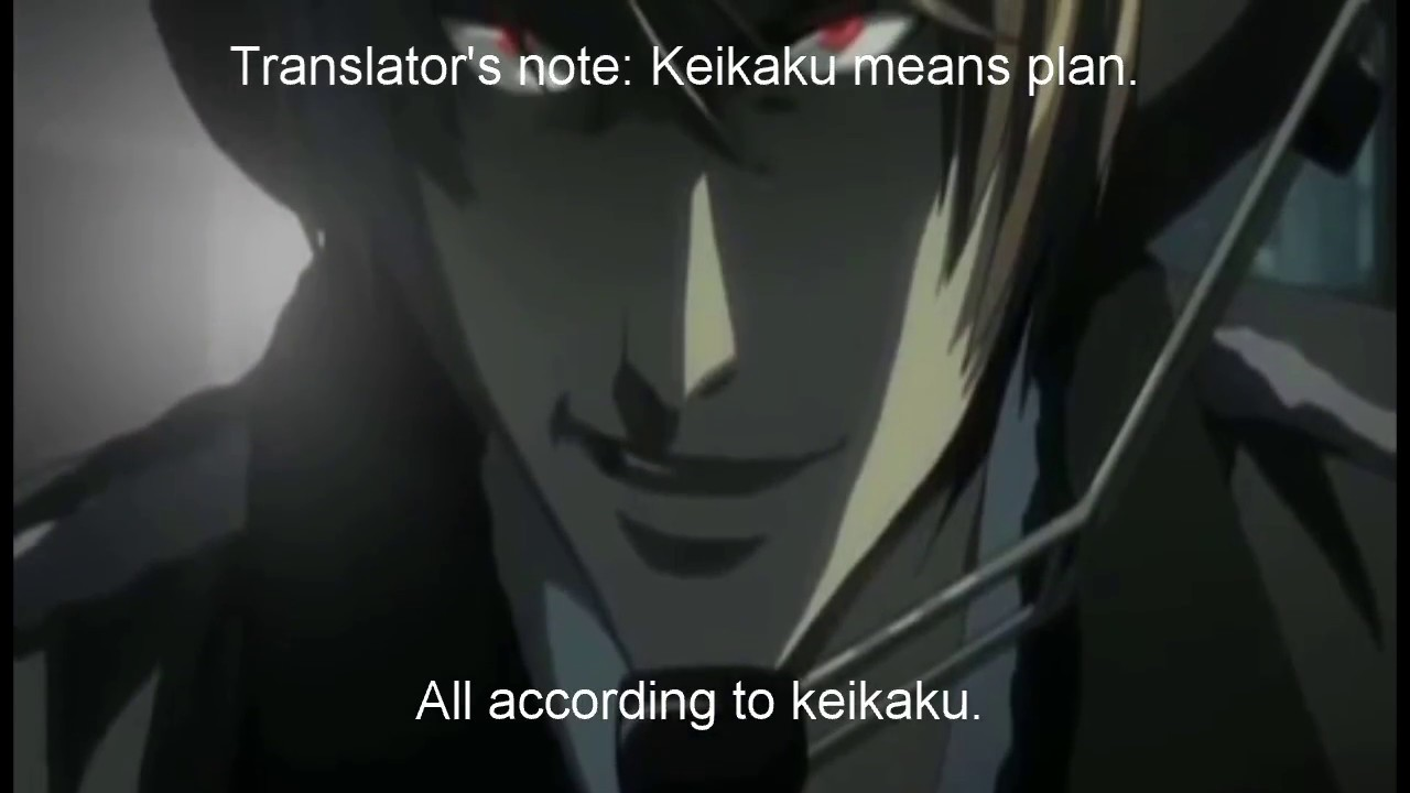 Image result for death note kira plan