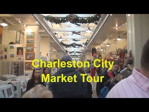 ▶️ Charleston SC City Market Tour