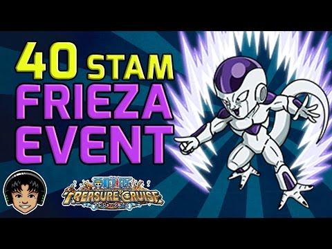 Walkthrough for Frieza Event 40 Stamina [One Piece Treasure Cruise]