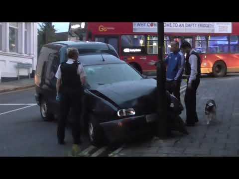 Drunk Driver Crash, Anerley Station Road, Anerley/Penge.