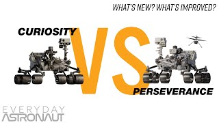 NASA's Perseverance Mars Rover VS Curiosity - What's New? What's Improved?