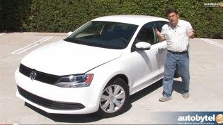 2014 Volkswagen Jetta SE 1.8 TSI Test Drive Video Review