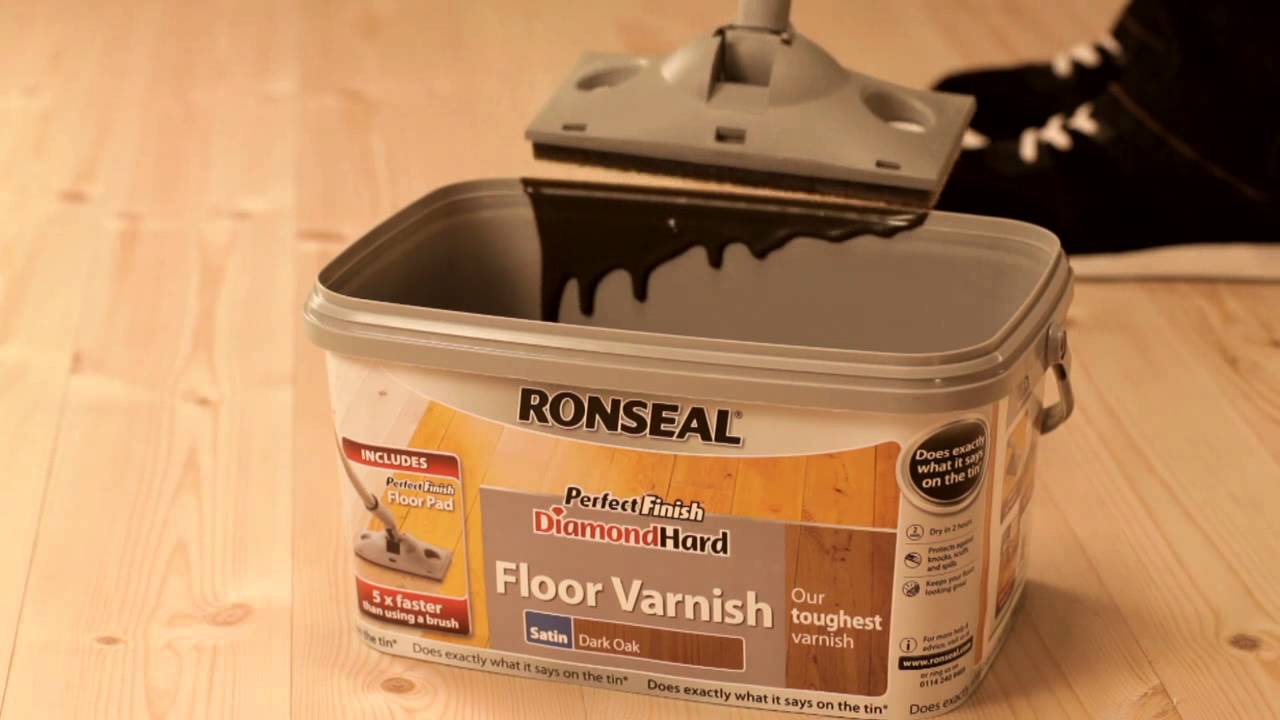 Protect Your Floor 5 Times Faster With Ronseal S Perfect Finish