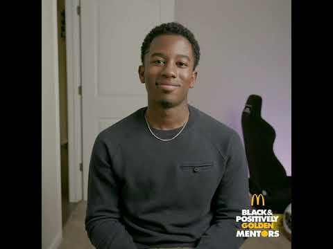 McDonald's Black & Positively Golden Mentors Program Speeds...