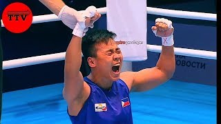 HIGHLIGHTS|| PHILIPPINES vs RUSSIA Women's Feather [57kg] 2019