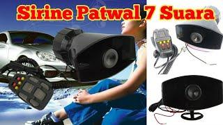 Cara Pasang Sirine Klakson Patwal 7 Suara pada Mobil 80 watt ( Ayla )