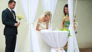 Свадебный фильм,ЗАГС, Свадьба Виталий и Алия