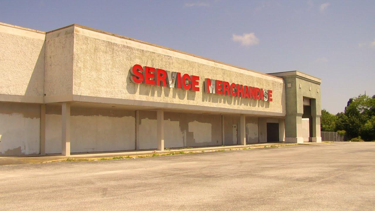 Abandoned Service Merchandise