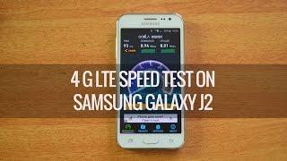 4g lte speedtest on samsung galaxy j2