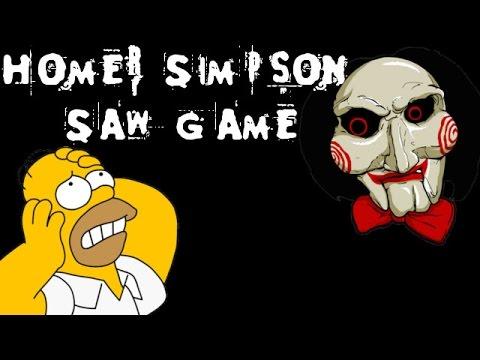 Homer Simpson Saw Game - [English Walkthrough]