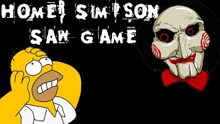Homer Simpson Saw Game - [English Walkthrough]