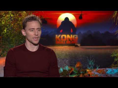 "KONG: SKULL ISLAND Open End Interview :  Tom Hiddleston –  ""James Conrad"""