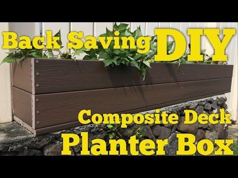 How to Make a Planter Box with Trex Composite Decking DIY