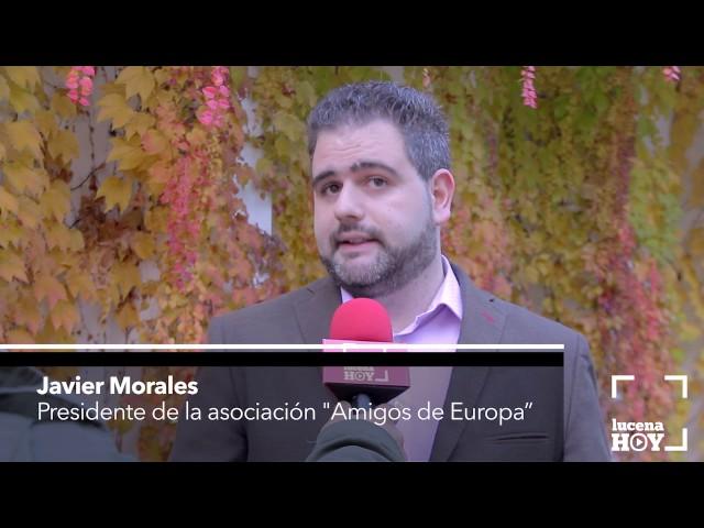 Vídeo: 35 jóvenes de varios países europeos debaten en Lucena sobre cómo encontrar empleo