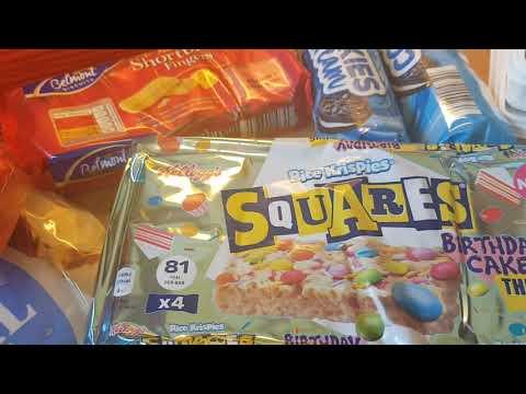 grocery-haul-&-meal-plan-2020-#22- -aldi-&-sainsbury's