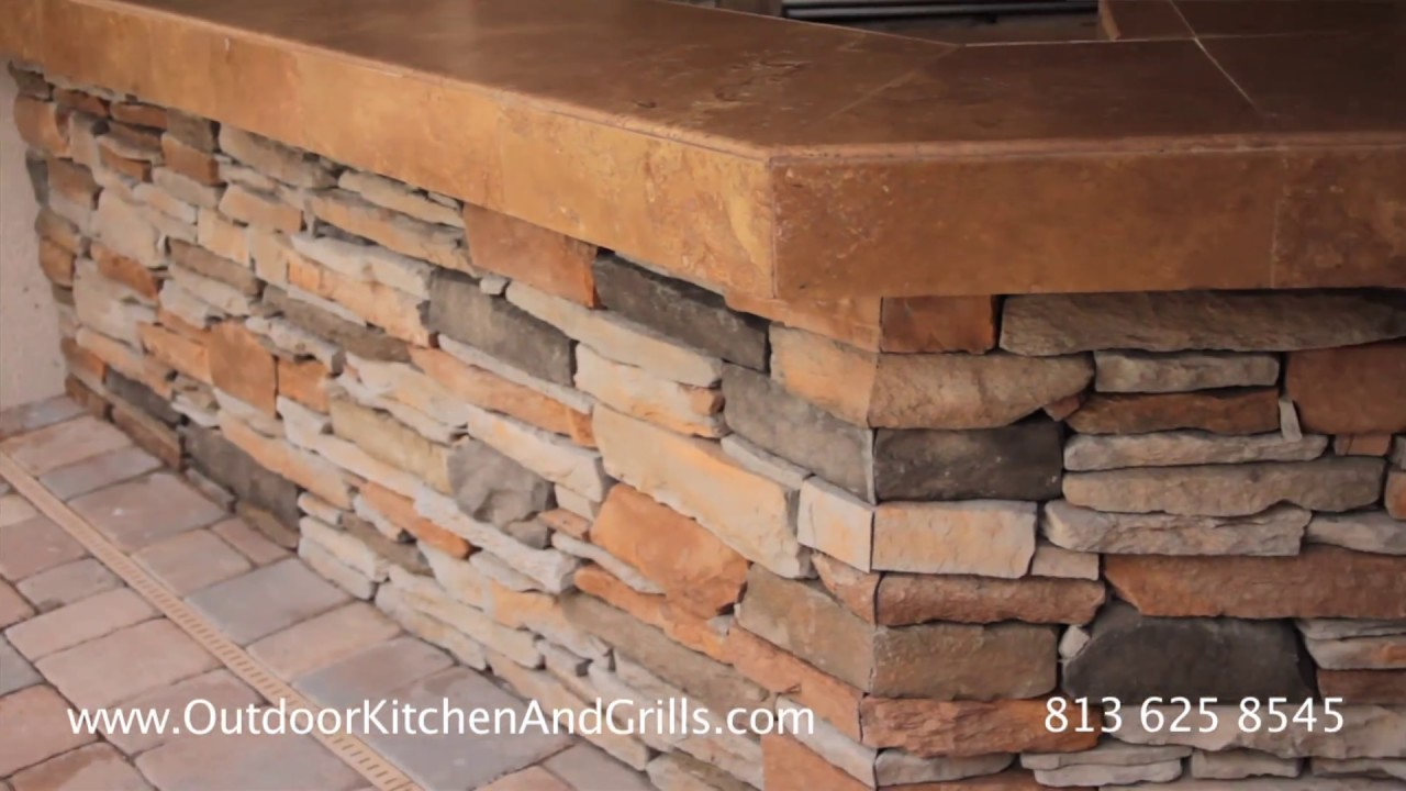 How to build custom Outdoor Kitchen, Pavers and Pools ...