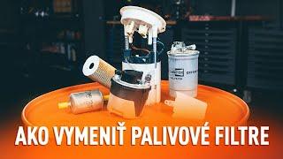 Montáž nafta Palivový filter : video zadarmo