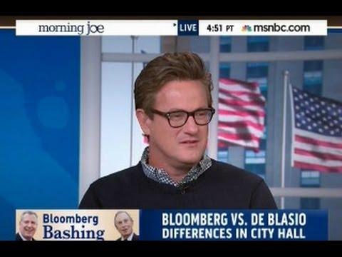 Morning Joe Praises Failure Michael Bloomberg