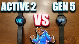 Samsung Galaxy Active 2 Vs Fossil Gen 5 Review!