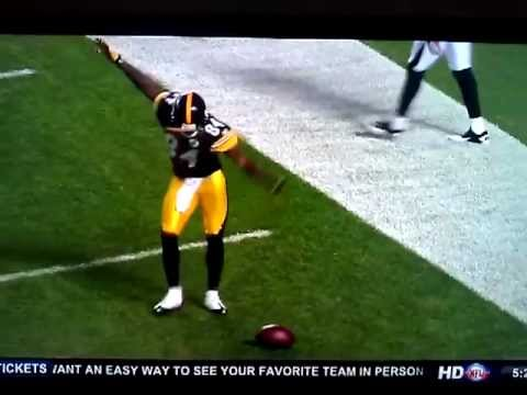 Antonio Brown TD and Hines Ward Celebration Dance