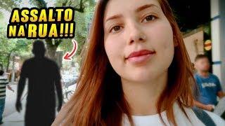 QUASE FUI ASSALTADA NESSE VIDEO!!!!