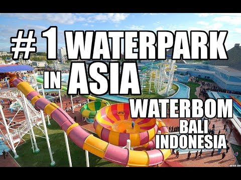 Waterbom Bali | The BEST water Park in Asia | Bali Vacation: Day 6
