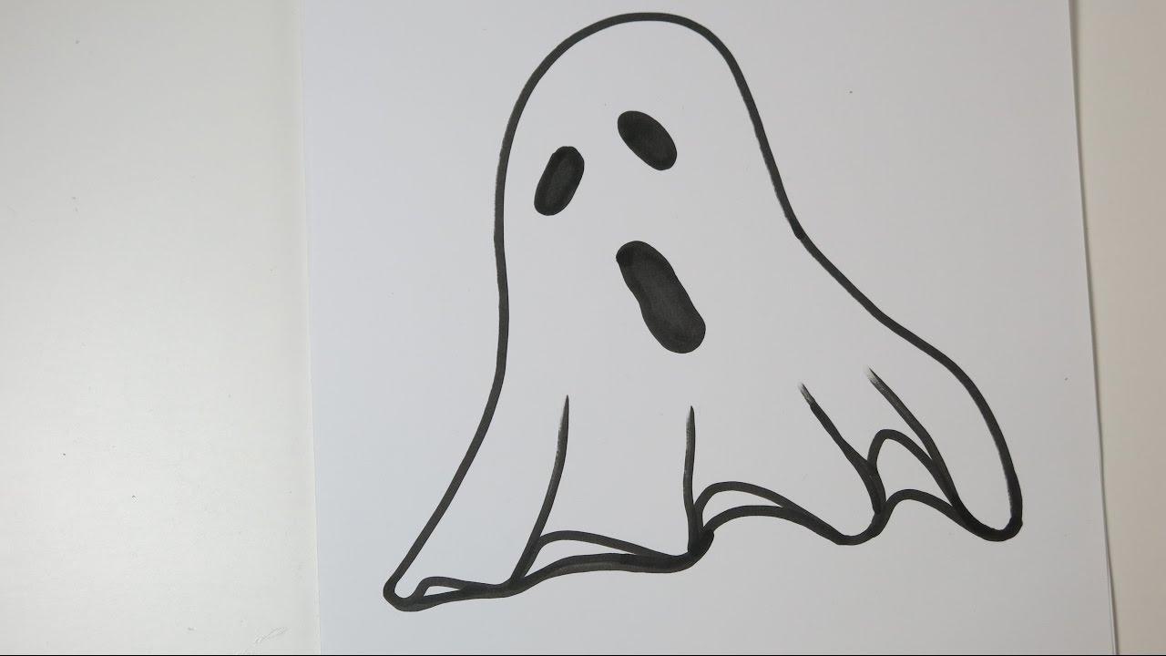 Really Simple Ghost Drawings