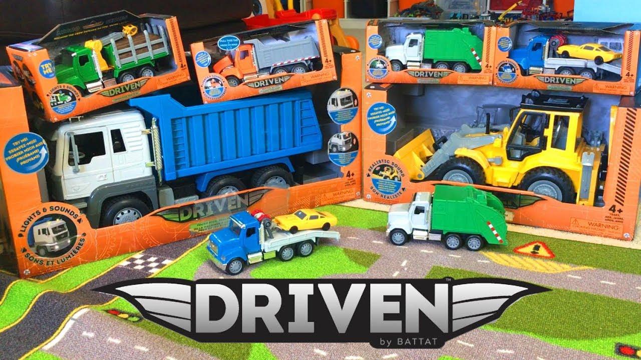 truck toys for kids - driven trucks by battat dump truck giveaway
