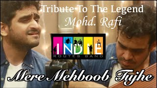 Mere Mehboob Tujhe | Tribute To The Legends | Mohd Rafi | Aabhas Shreyas | Indie Routes