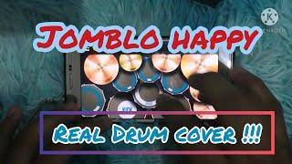 Video Jomblo happy ~ gamma band (real drum cover) download MP3, 3GP, MP4, WEBM, AVI, FLV Agustus 2017