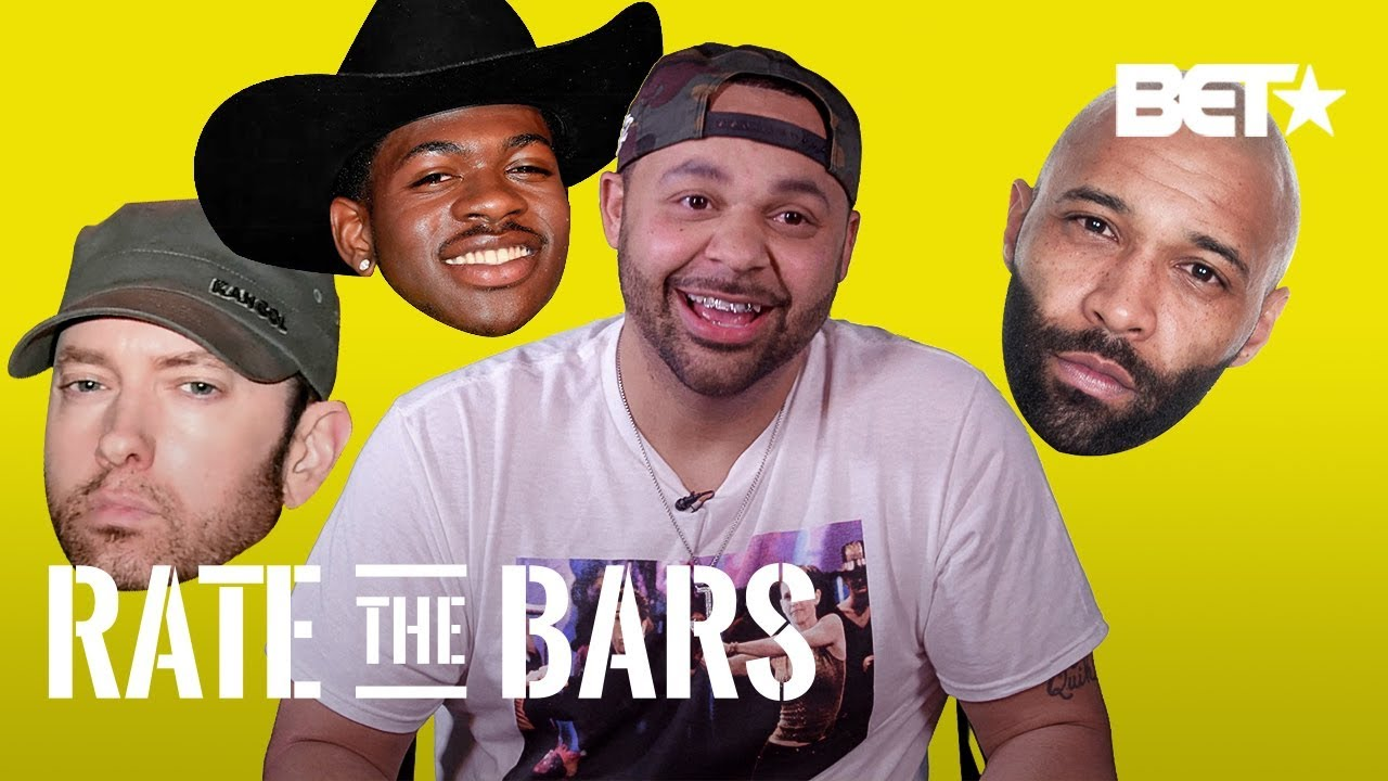 Joell Ortiz Gives Lil Nas X His Honest Rating & Shocking Ratings For Eminem & More! | Rate The Bars