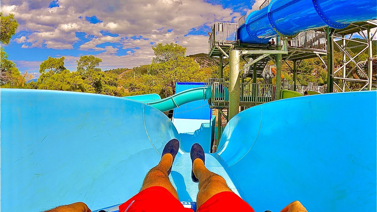 Scary Boomerang Water Slide at Vogue Hotel Bodrum