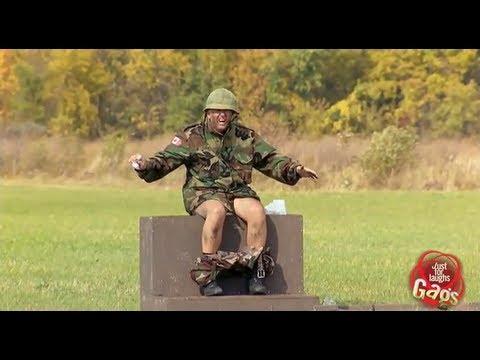 Canadian Army Tank Gun Goes Off
