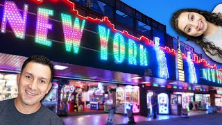 Exploring the New York New York Arcade in Southend, England!
