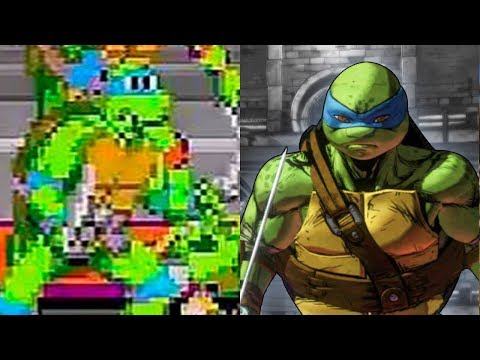 Evolution Of Ninja Turtles Games