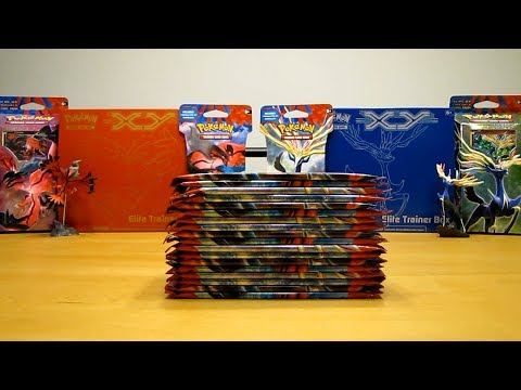 Pokemon X and Y Booster Box Opening Pt. 2