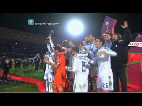 Real Madrid, campeón del Mundo. Real Madrid 2 - San Lorenzo 0. Final. Mundial de Clubes 2014. FPT.