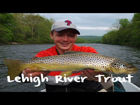 Trout Fishing The Lehigh River