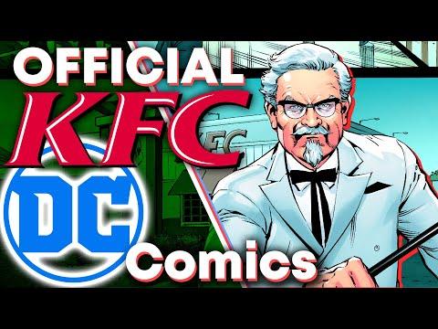 DC Comics' INSANE KFC Trilogy!