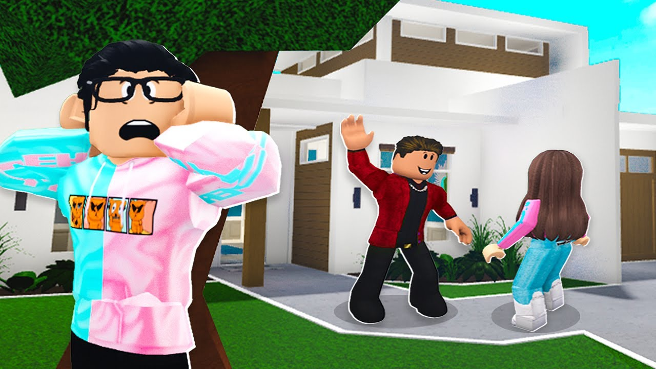 I Caught Cari Sneaking Out.. You Won't Believe Where She Was! (Roblox Bloxburg)