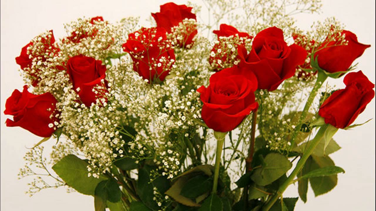 024 un ramo de flores rojas