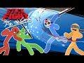 Stick Fight - STICK FIGHTING CHAMPIONSHIP!!!! (With Cartoonz, Ohmwrecker, & Gorillaphent)