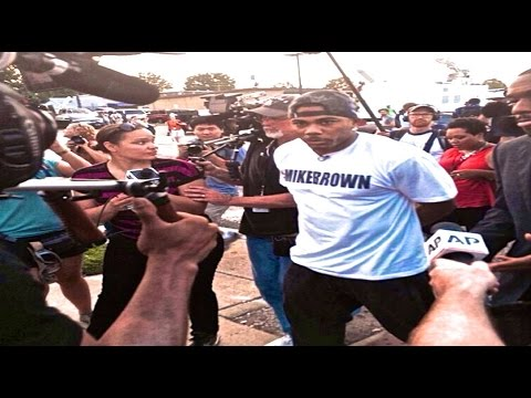Nelly visit's Ferguson Missouri Protest | Michael Mike Brown St. Louis [TRIBUTE]