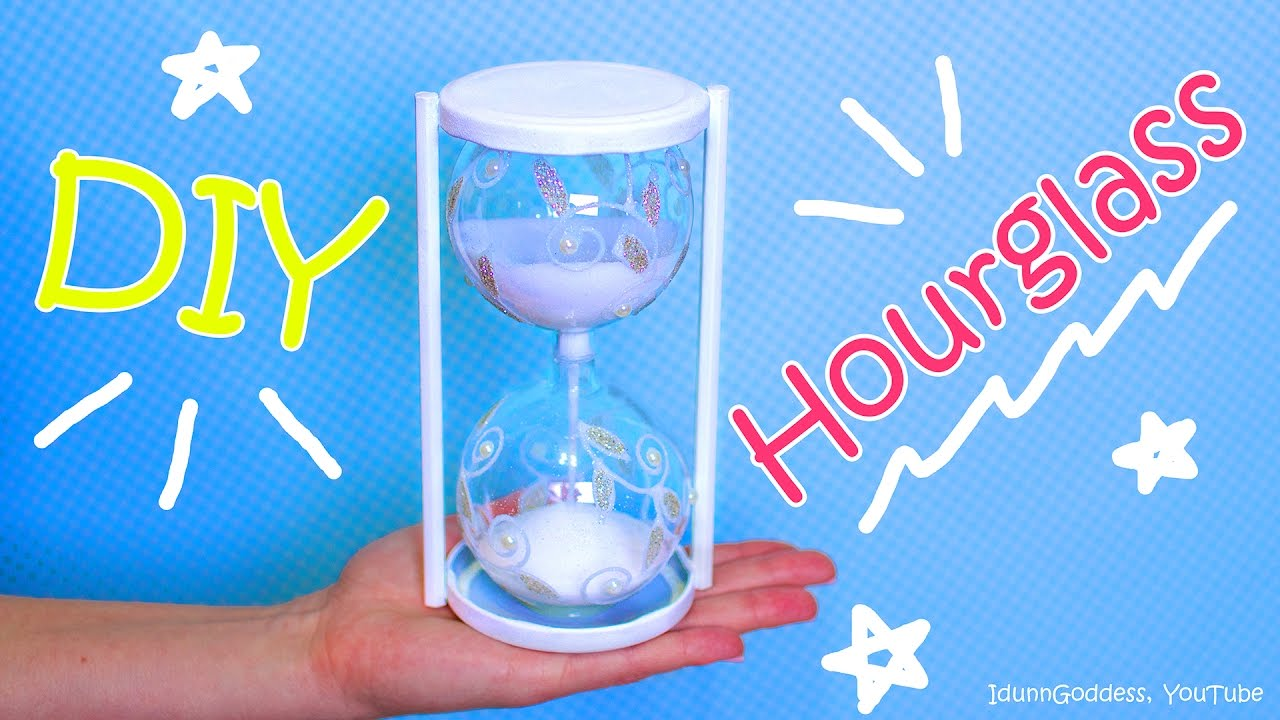How To Make An Hourglass Out Of Christmas Ornaments – Diy Hourglass   Youtube