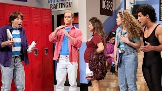 Saved By The Bell Jimmy Fallon REUNION - Video