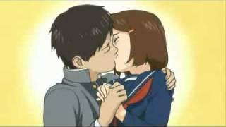 Первый поцелуй, а в аниме он ещё и не так может кончиться