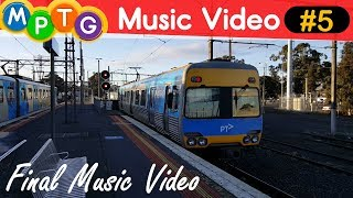 Melbourne's Metro and V/Line Trains (Music Video #5)